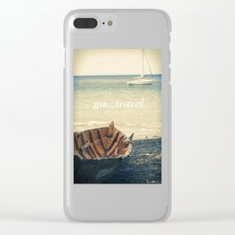 Boat and Yacht Clear iPhone Case
