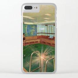 Sun bathe Clear iPhone Case