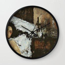 Resting - Digital Remastered Edition Wall Clock
