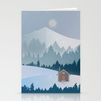 cabin pressure Stationery Cards featuring Cabin by Eric-Bird