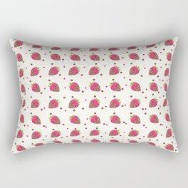 AFE Chocolate Strawberries Pattern Rectangular Pillow