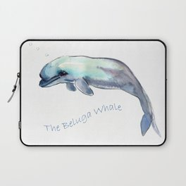 The Beluga Whale Laptop Sleeve