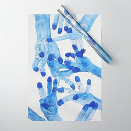 Cold Hands Wrapping Paper