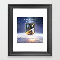 Destiny Wolfpakk Framed Art Print