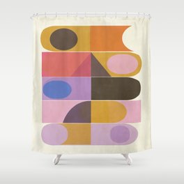 Modern Totem  #society6 #buyart #decor Shower Curtain