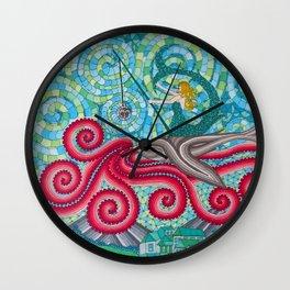 Flying Siren Wall Clock