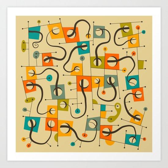 FULL HOUSE Art Print