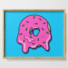 Donut time Serving Tray