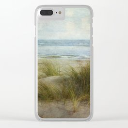 Ein Tag am Meer Clear iPhone Case