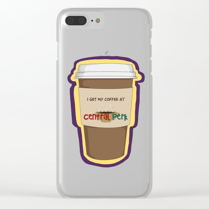 CENTRAL PERK Clear iPhone Case
