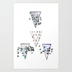 Bassed Dreams Art Print