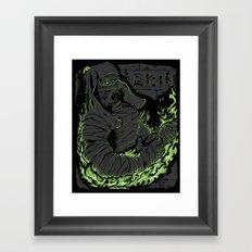 Return to Ashes Framed Art Print