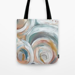 Abstract chic - cirlces and dots Tote Bag