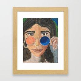 Molly Framed Art Print