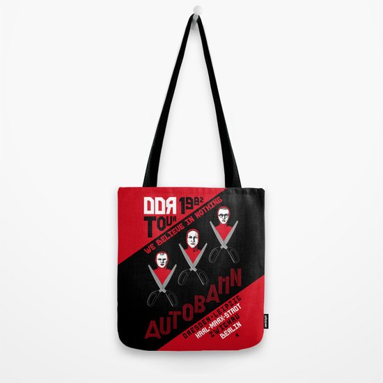 Autobahn--East German Tour 1982 Tote Bag