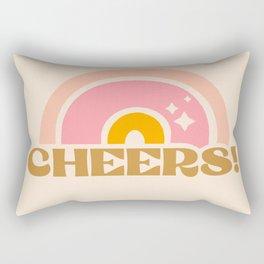 cheery cheers Rectangular Pillow