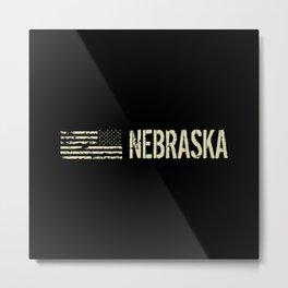Black Flag: Nebraska Metal Print