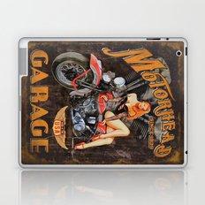 Motorhead Garage Vintage Poster Laptop & iPad Skin