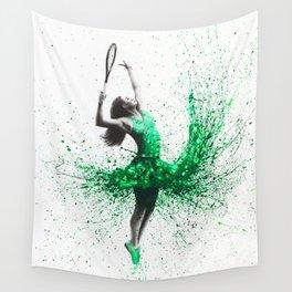 Wimbledon Woman Wall Tapestry