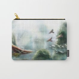 Flight through the Mountains Carry-All Pouch