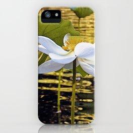 Golden pond iPhone Case