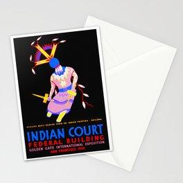 Arizona Apache Devil Dancer - Native American Stationery Cards
