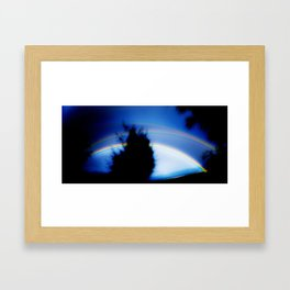 .heat. Framed Art Print