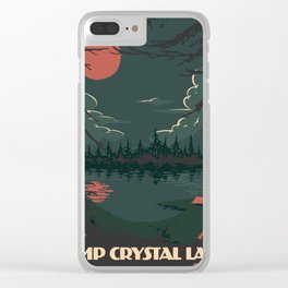 Visit Camp Crystal Lake Clear iPhone Case