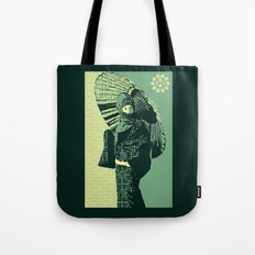 ASIAN WOMAN-GREEN VERSION Tote Bag