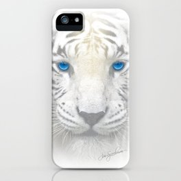Ghost Tiger iPhone Case