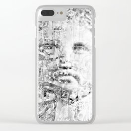 Phillip of Macedon series 8 Clear iPhone Case