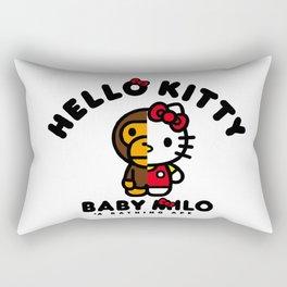milo kitty Rectangular Pillow
