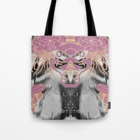 geode Tote Bags featuring Geode 4 by michiko_design