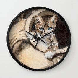 Sweet cat Wall Clock