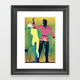 Banishment From Eden Framed Art Print