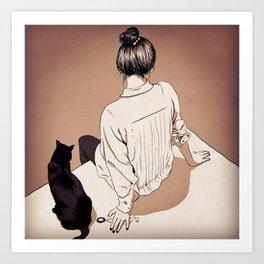 Fiction… Art Print
