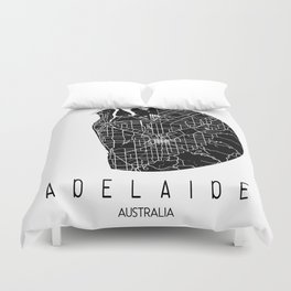 Adelaide White Round Duvet Cover