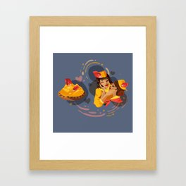 Mango Passion Framed Art Print