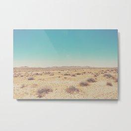 the Mojave Desert ... Metal Print
