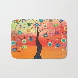 Fiesta Tree Bath Mat