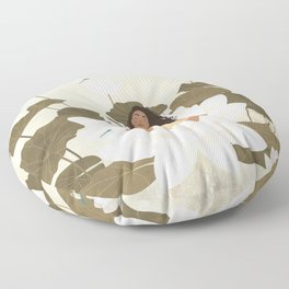 I Am at Peace Floor Pillow