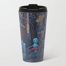 Number City Metal Travel Mug