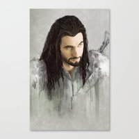 thorin Canvas Prints featuring Thorin by Alba Palacio
