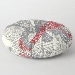 Roll Tide (Alabama Elephant) Floor Pillow