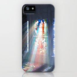 Enchanted window iPhone Case