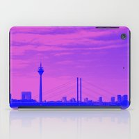 cityscape iPad Cases featuring Cityscape by DuniStudioDesign