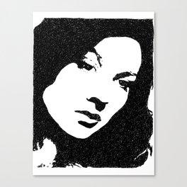 Vivien Leigh Face Canvas Print