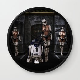 Sexy Sci-Fi 2 Wall Clock