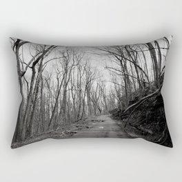 Dead Road Rectangular Pillow