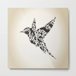 Bird an animal Metal Print